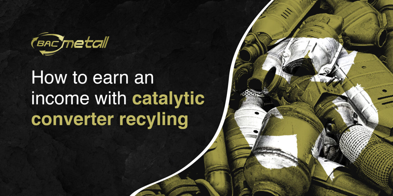 How to earn an income with catalytic converter recycling