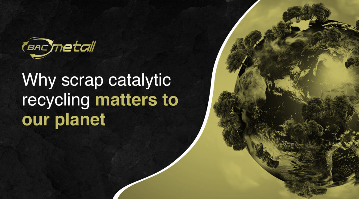 catalytic converter recycling greatly benefits our planet