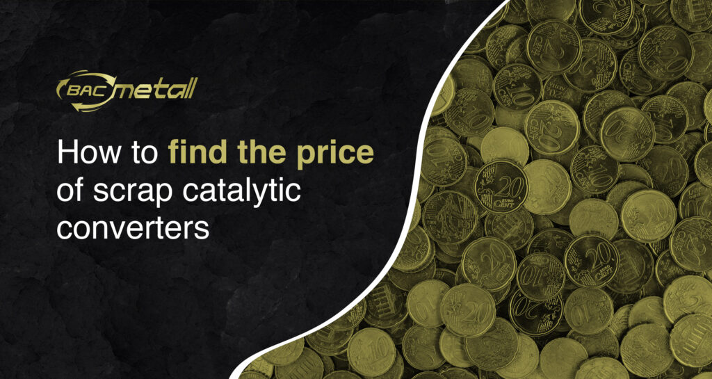 Title image: How to calculate the price of scrap catalytic converter